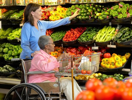 Your caregiver can shop for groceries at stores of their clients' preference and run errands, such as picking up prescriptions or going to the post office. Clients may choose to stay home or help with the shopping and errands as an excellent way to stay active and engaged.