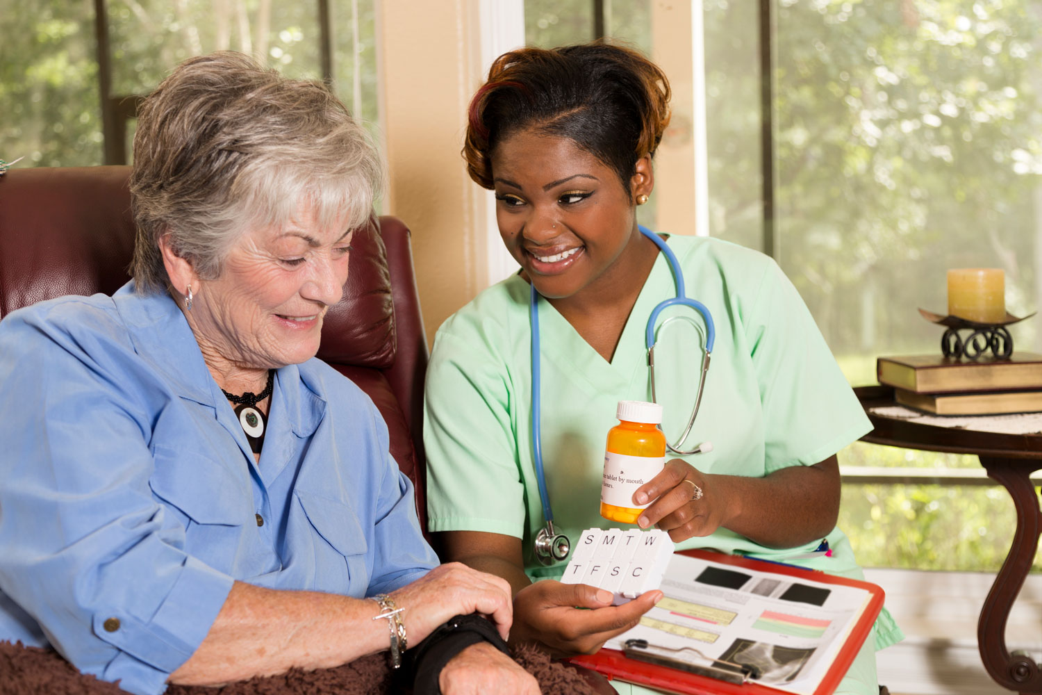 Being able to remember to take your medication every day at a certain time can be a difficult for many people, especially if one must take multiple medications at different times a day. Furthermore, if your loved one has Alzheimer's or dementia, remembering to take medication becomes more of a strenuous effort.